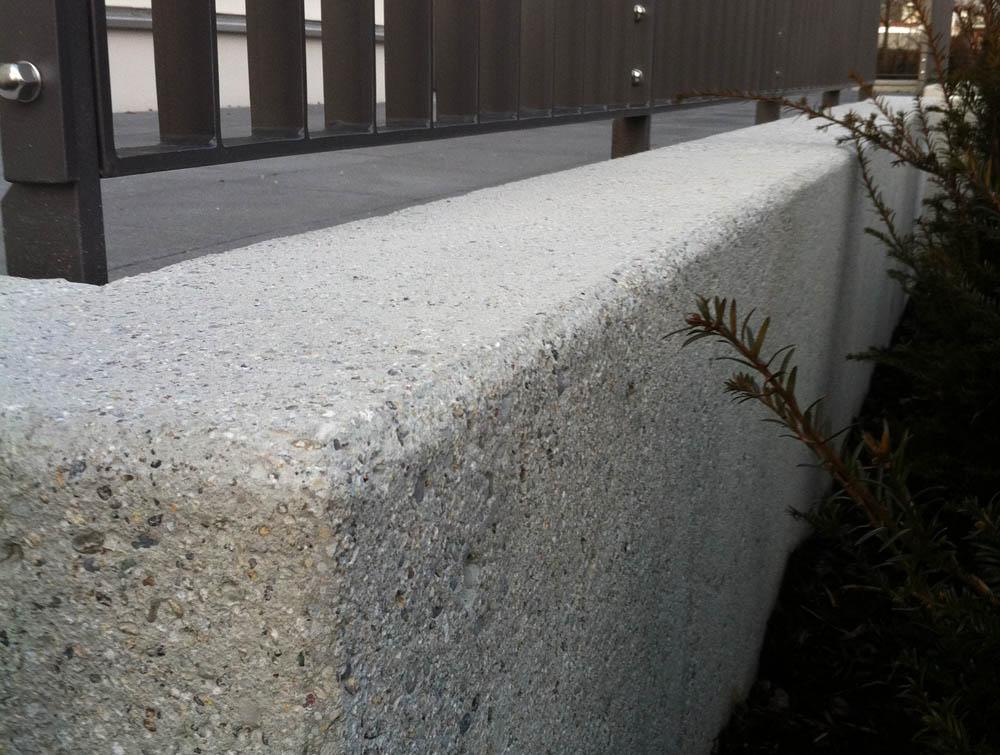 beton sandstrahlen
