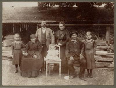 Familie Unterpaintner 1911