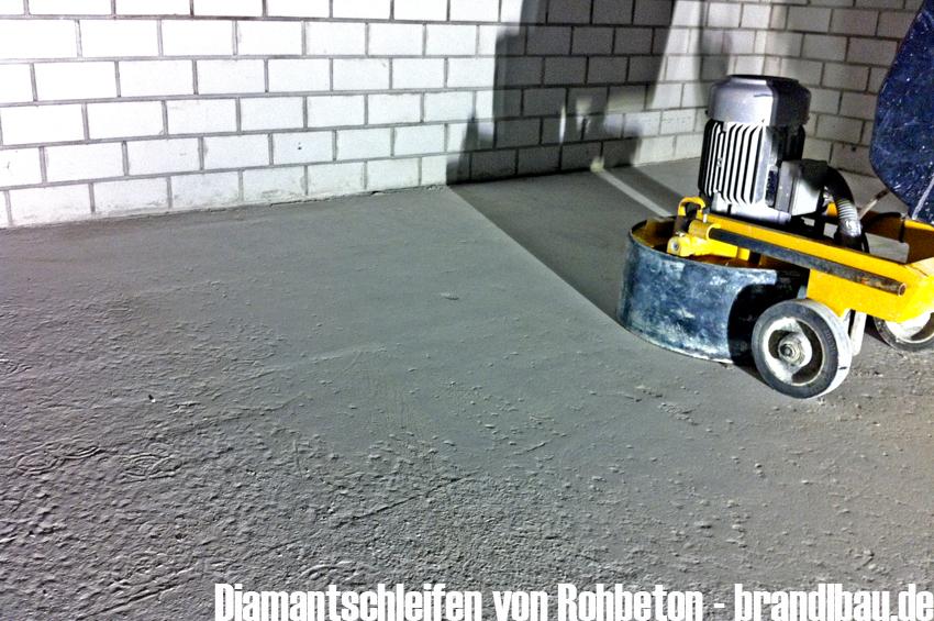 Brandlbau De Frasen Kugelstrahlen Schleifen Von Beton Und Estrich